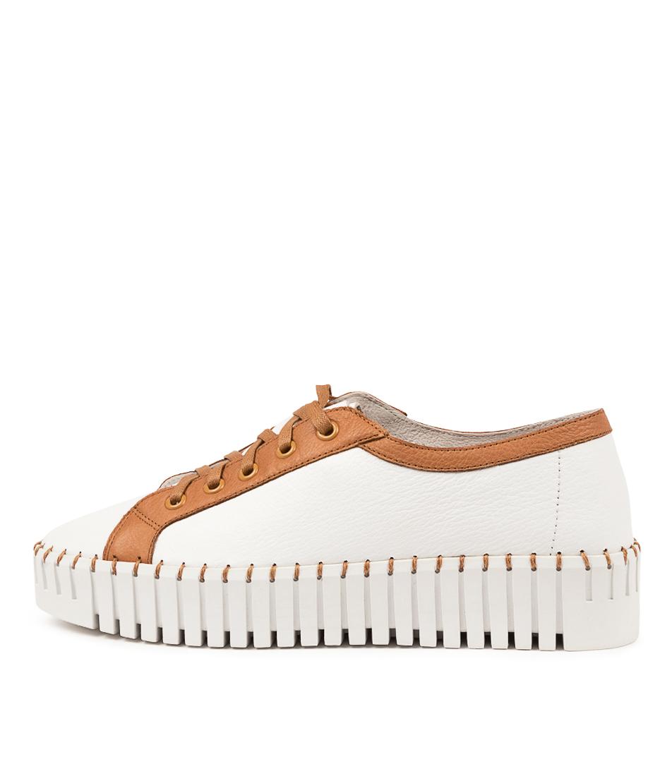 Buy Django & Juliette Banksta Dj White Scotch Sneakers online with free shipping