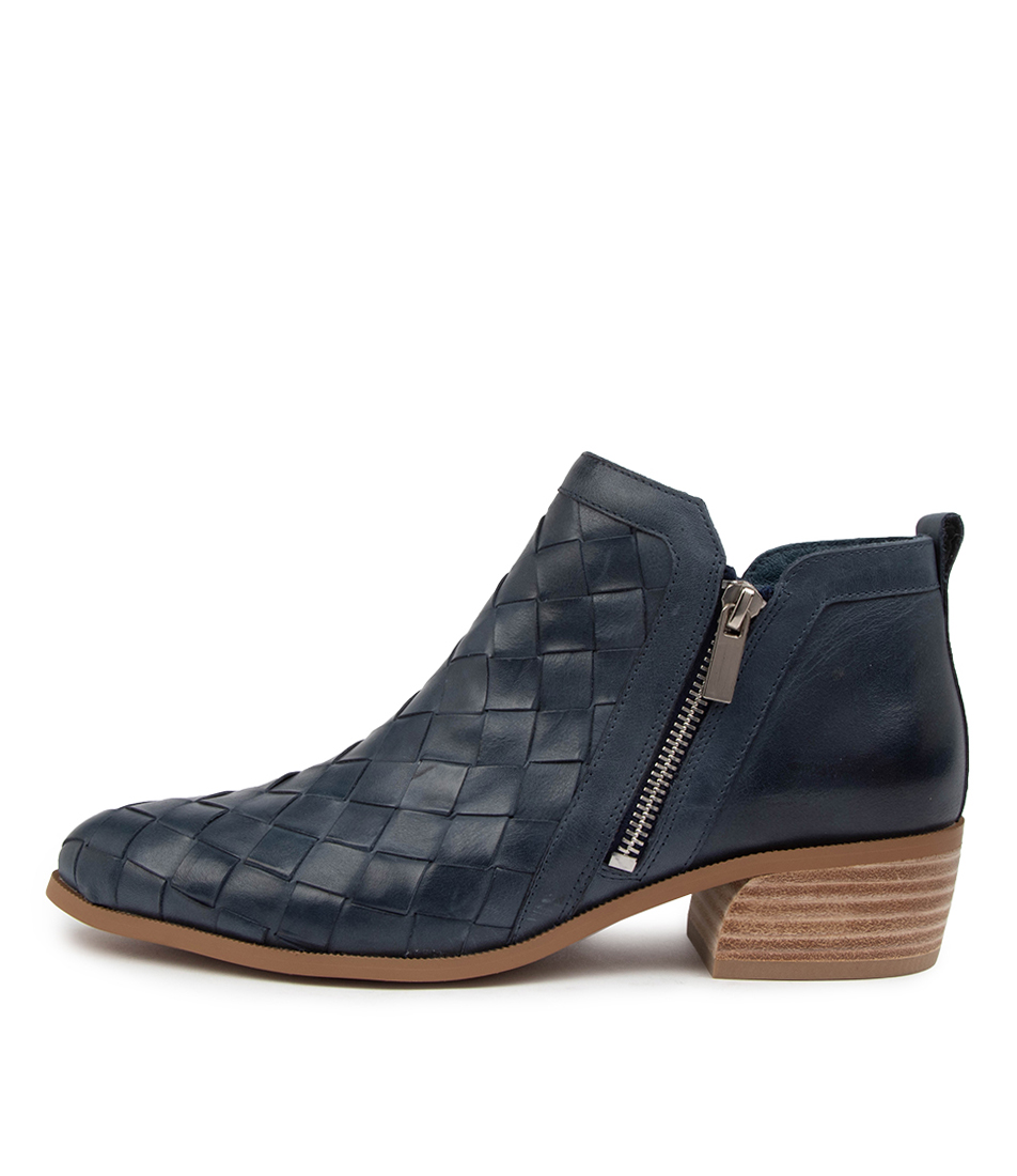 Buy Django & Juliette Case Dj Navy Ankle Boots online with free shipping