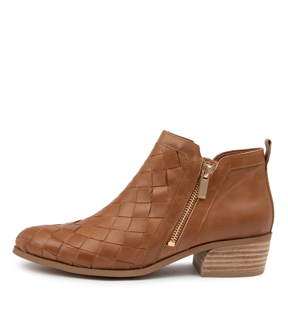 Buy Django & Juliette Case Dj Tan Ankle Boots online with free shipping