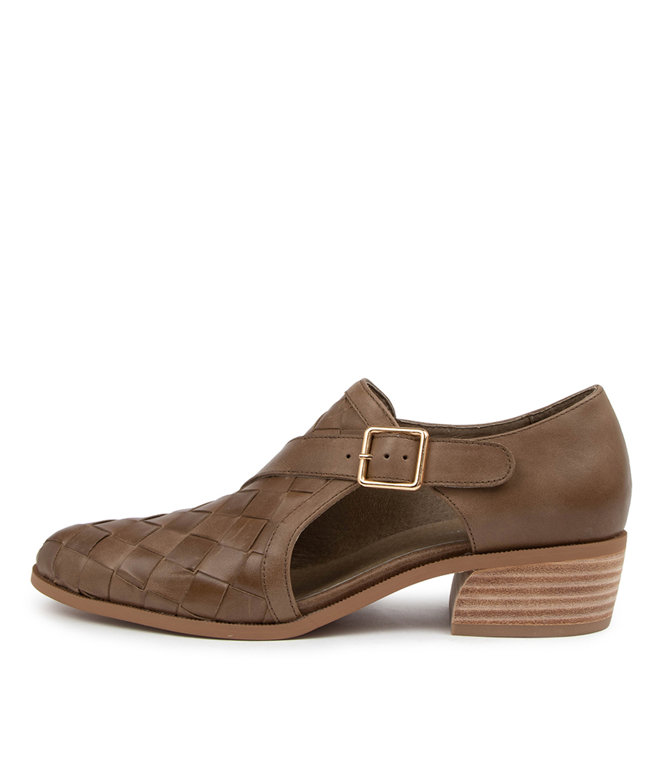 Buy Django & Juliette Clive Dj Taupe High Heels online with free shipping