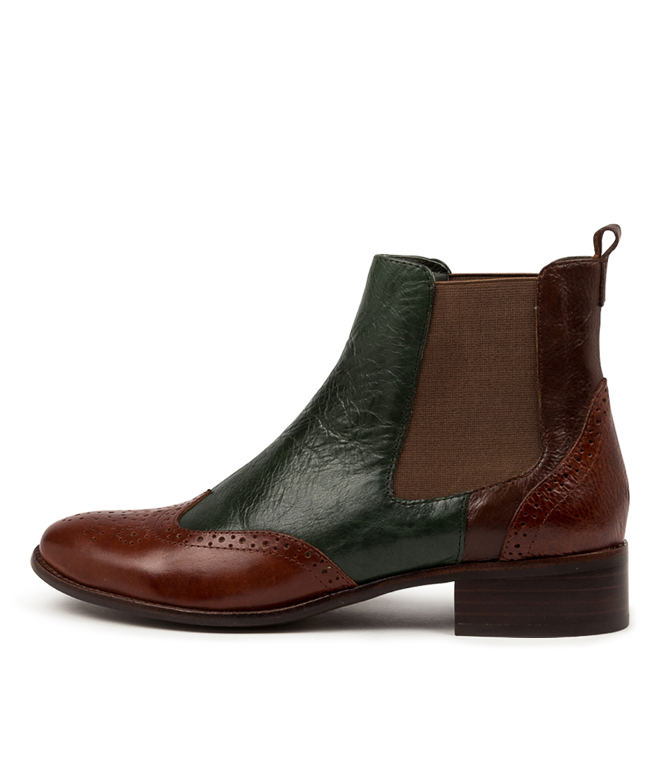 Buy Django & Juliette Clover Dj Cognac Ankle Boots online with free shipping