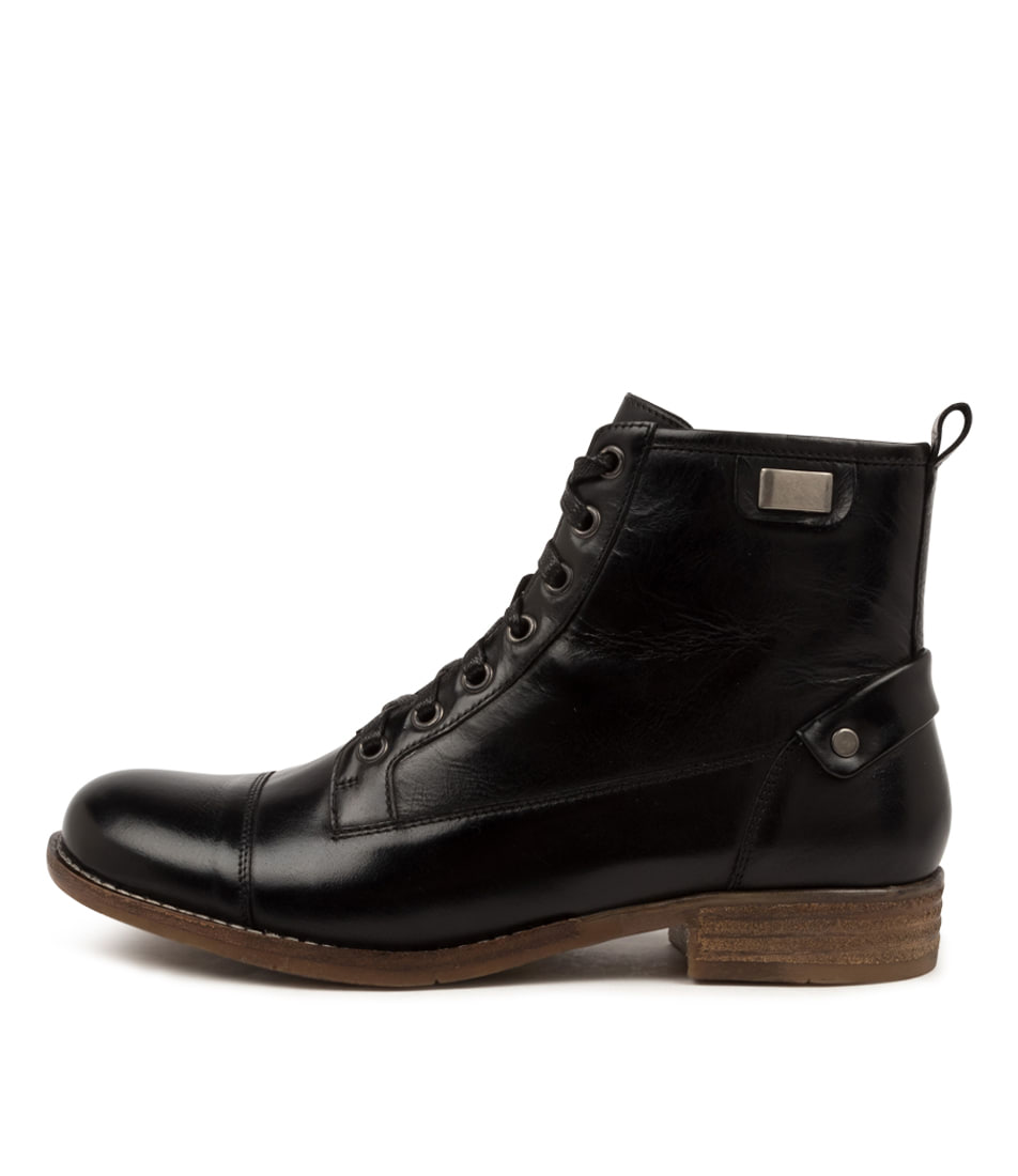 Buy Django & Juliette Cyrus Dj Black Ankle Boots online with free shipping