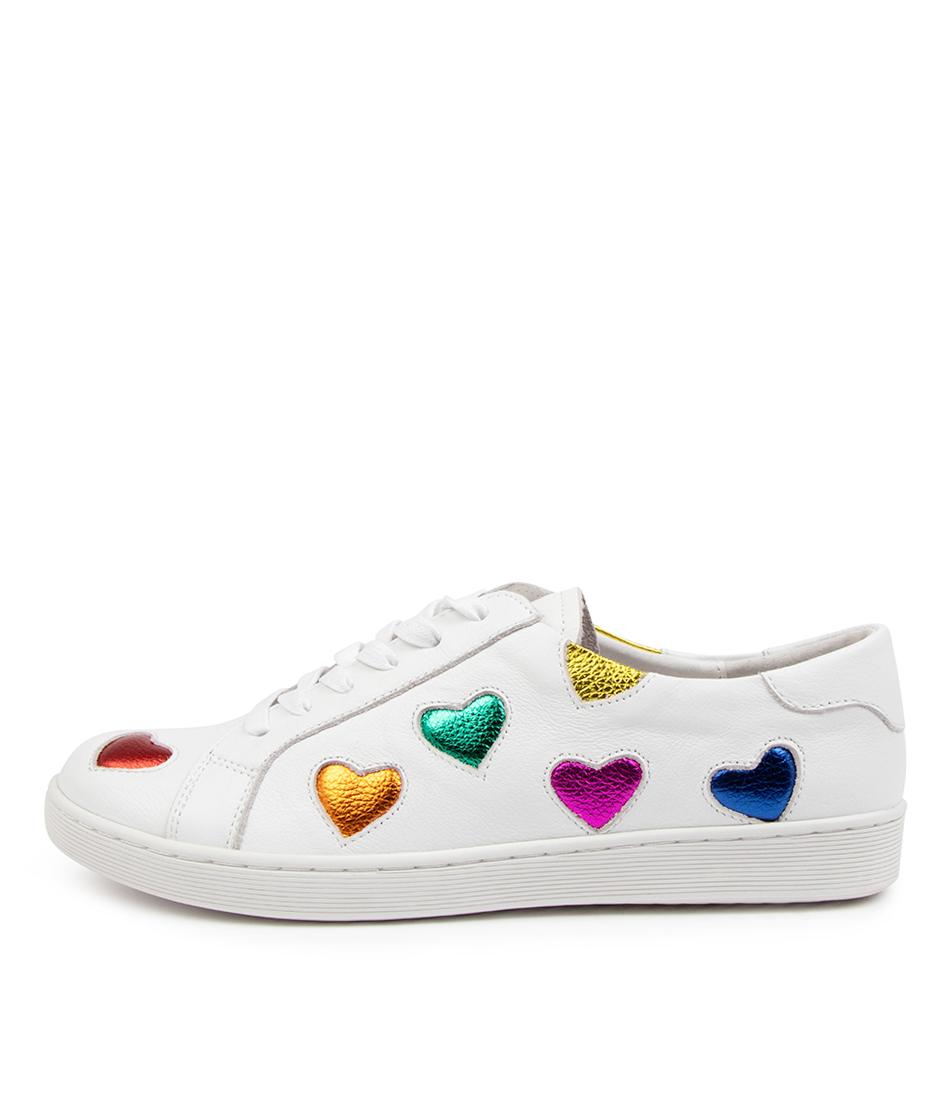 Buy Django & Juliette Diala Dj White Bright Sneakers online with free shipping