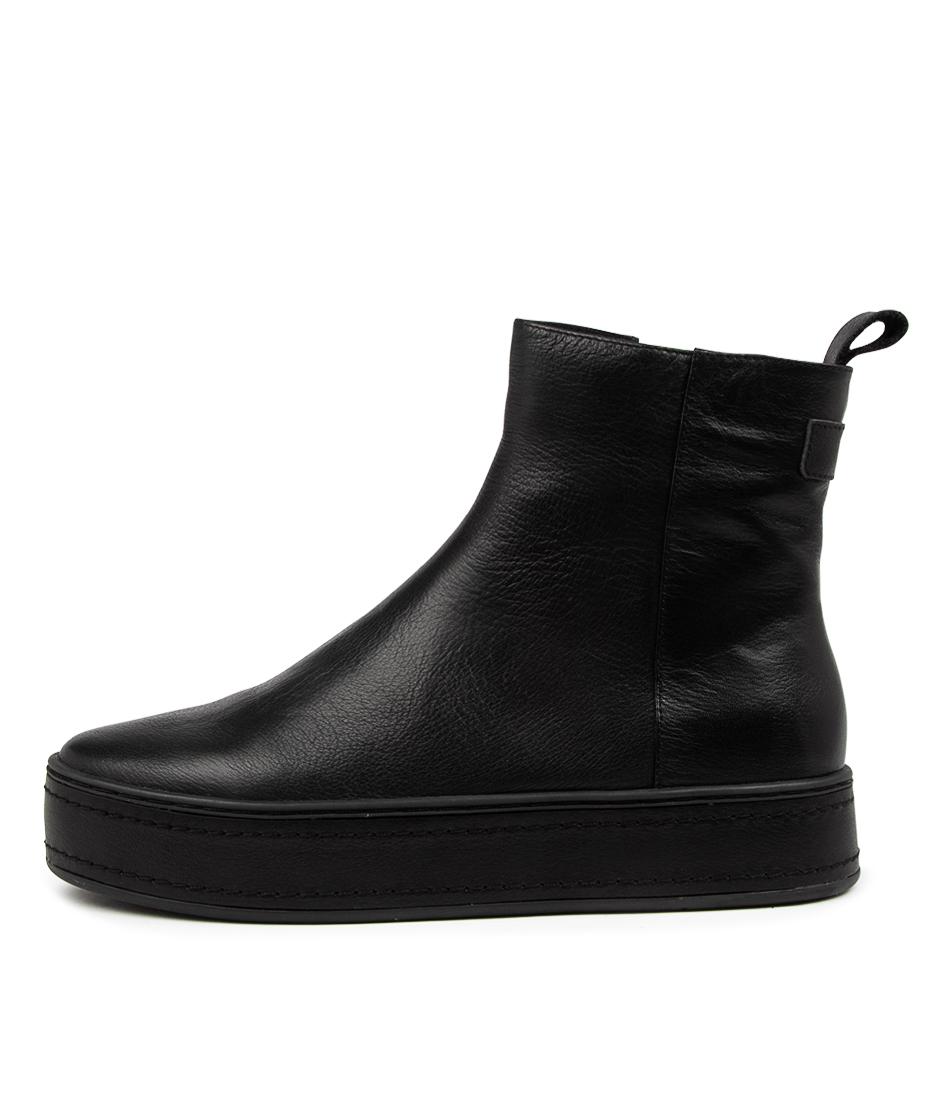 Buy Django & Juliette Gregor Dj Black Black Ankle Boots online with free shipping