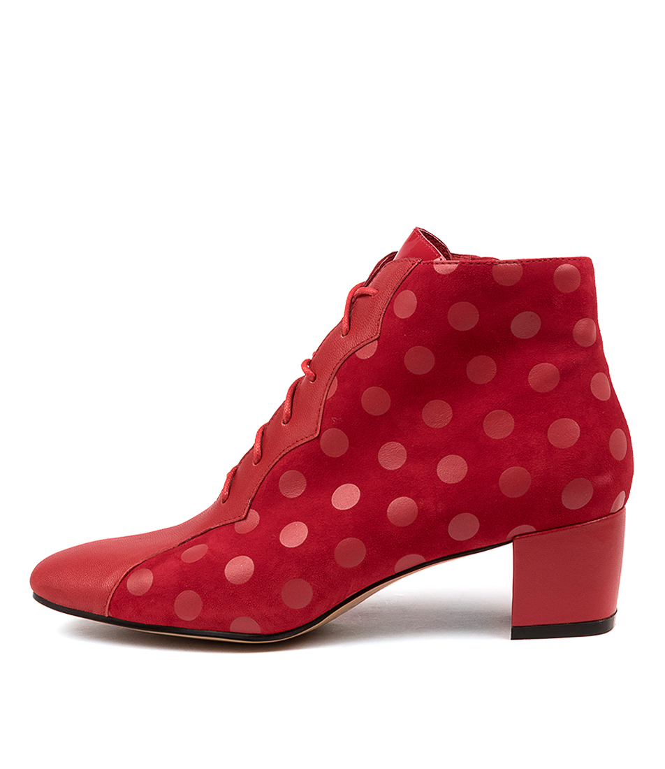 Buy Django & Juliette Harlany Dj Red Dot Ankle Boots online with free shipping