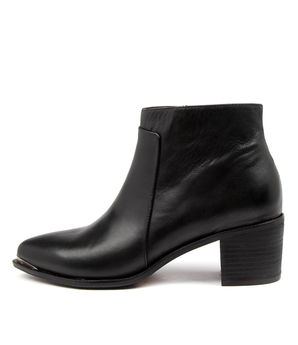Buy Django & Juliette Hectors Dj Black Ankle Boots online with free shipping
