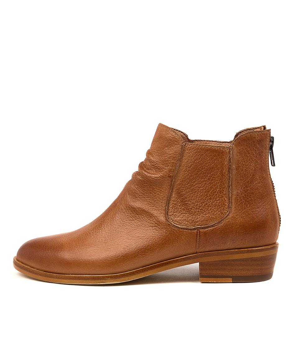 Buy Django & Juliette Ivor Dj Tan Ankle Boots online with free shipping
