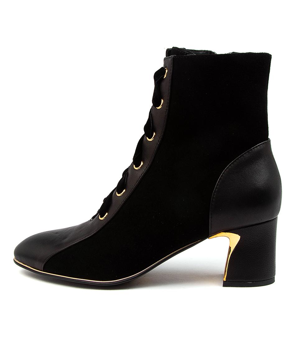 Buy Django & Juliette Jersey Dj Black Ankle Boots online with free shipping