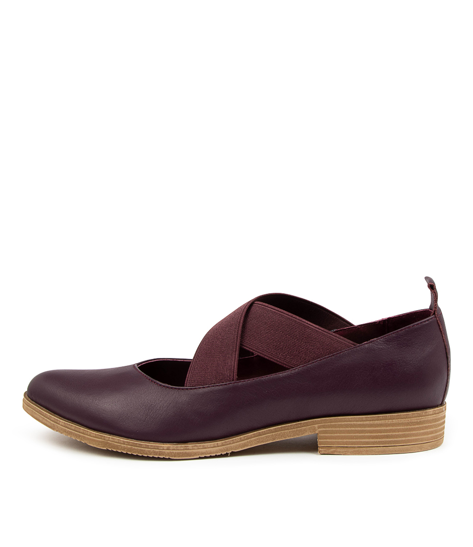 Buy Django & Juliette Kairo Dj New Purple Flats online with free shipping