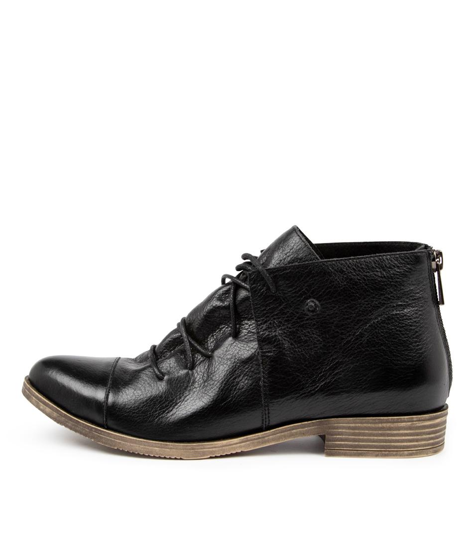 Buy Django & Juliette Kayley Dj Black Ankle Boots online with free shipping