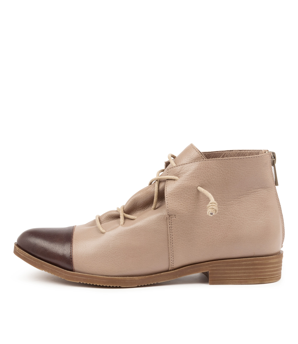 Buy Django & Juliette Kayley Dj Choc Ash Ankle Boots online with free shipping