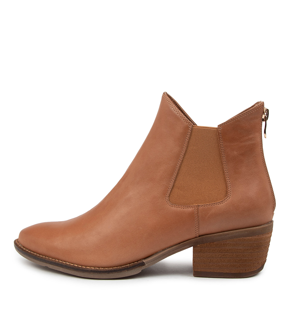 Buy Django & Juliette Layden Dj Tan Ankle Boots online with free shipping