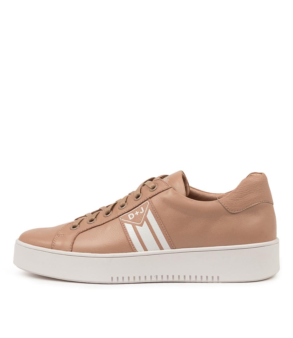 Buy Django & Juliette Lorrie Dj Rose White Sneakers online with free shipping