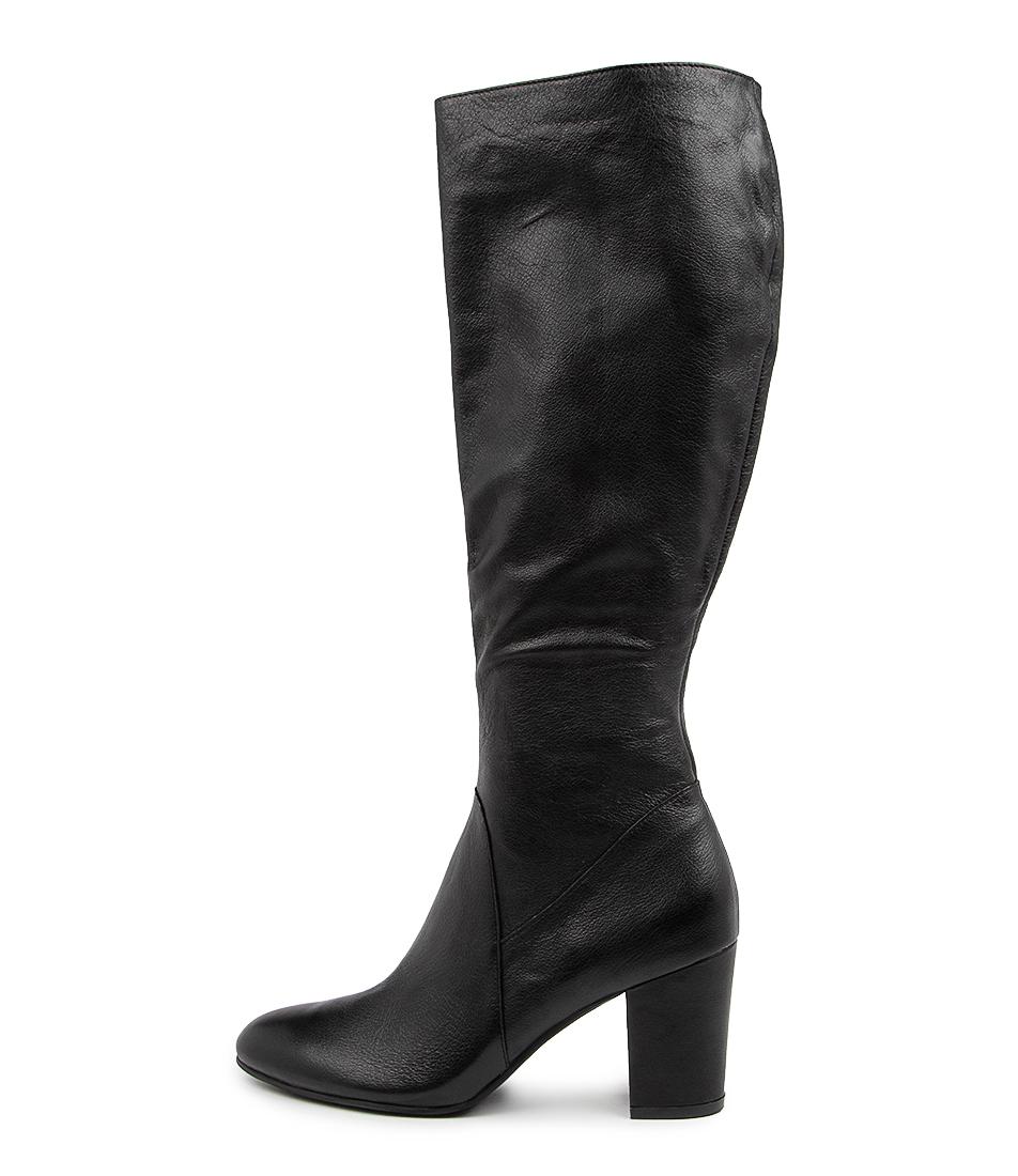 Buy Django & Juliette Lumi Dj Black Long Boots online with free shipping