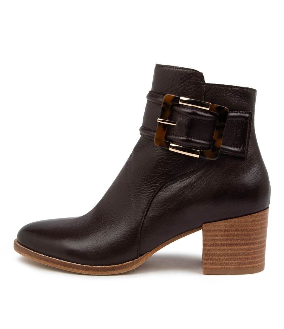 Buy Django & Juliette Mell Dj Choc Ankle Boots online with free shipping