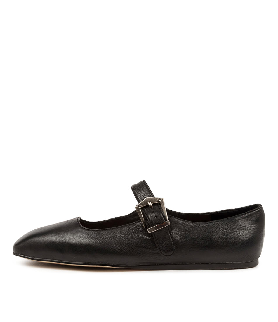 Buy Django & Juliette Mellies Dj Black Flats online with free shipping