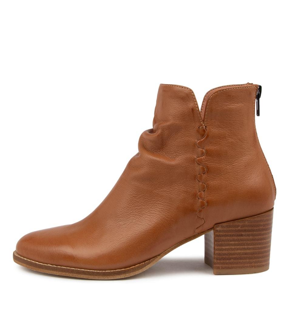 Buy Django & Juliette Millie Dj Dk Tan Ankle Boots online with free shipping