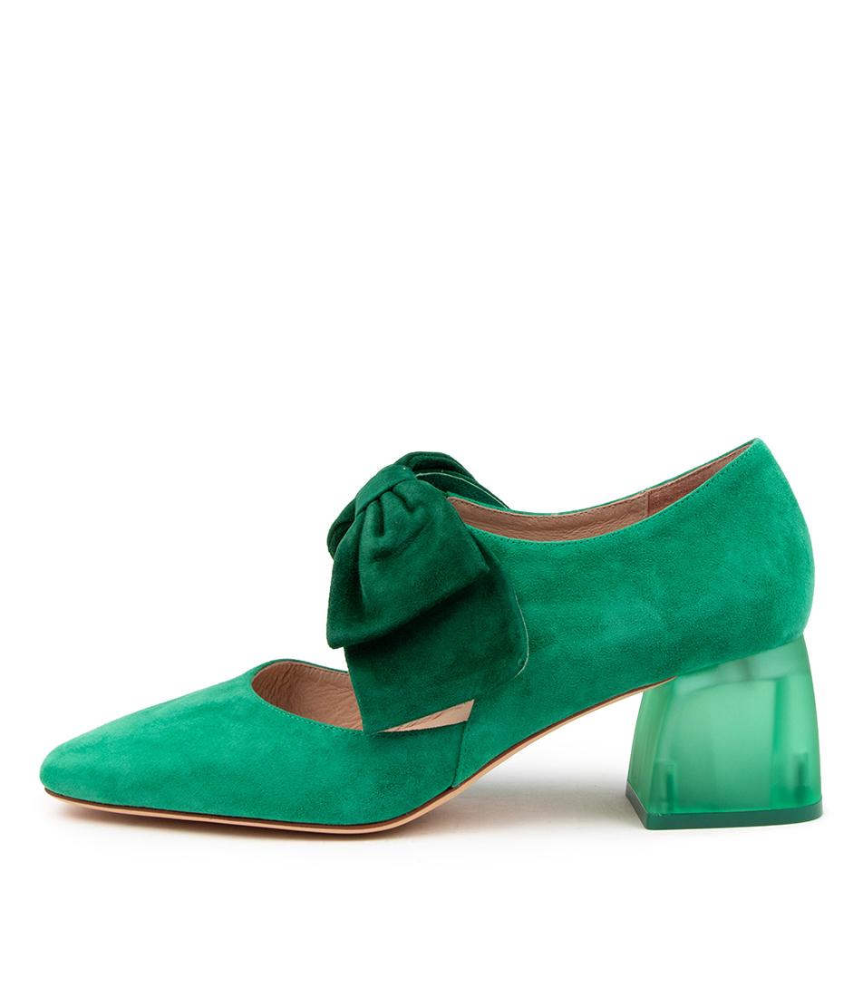 Buy Django & Juliette Misha Dj Forest Emerald Party High Heels online with free shipping