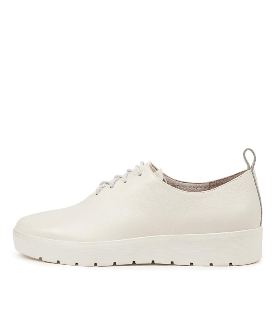 Buy Django & Juliette Nicol Dj White White Sole Flats online with free shipping