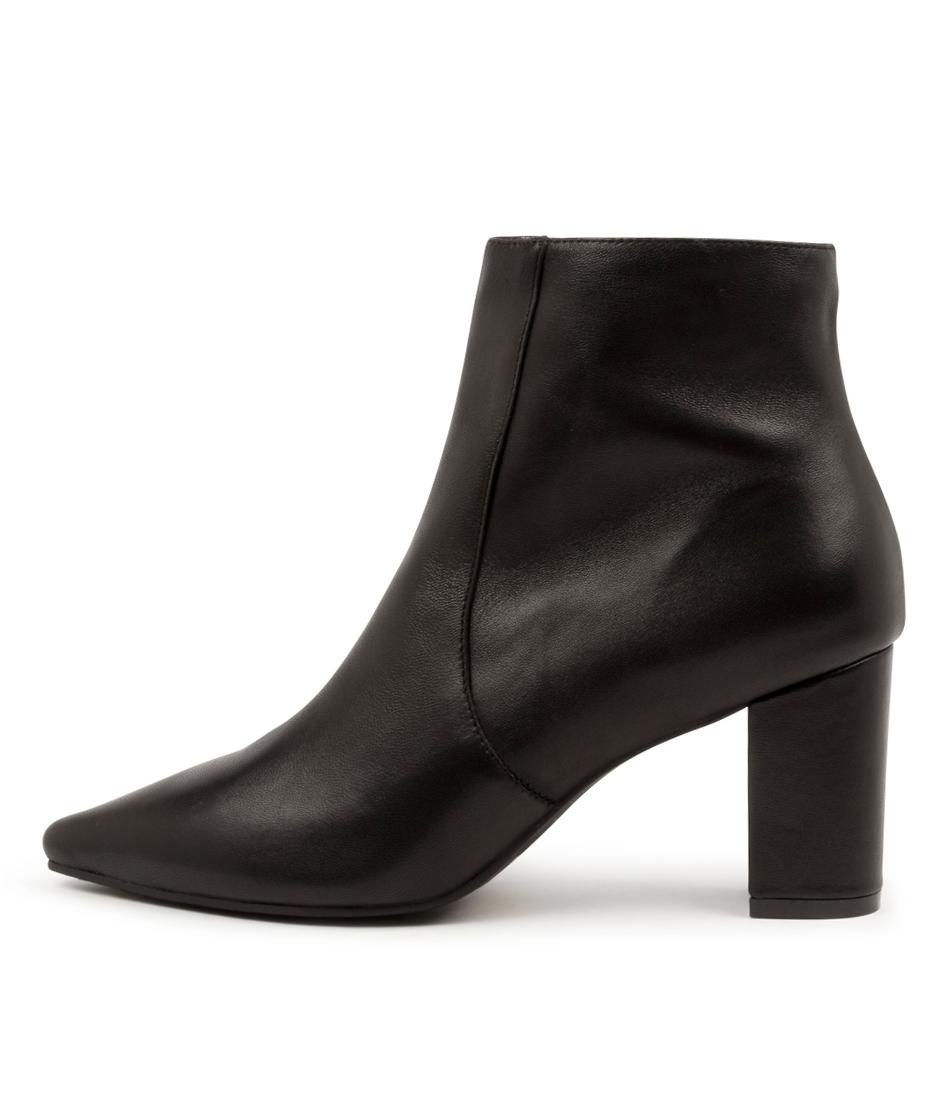 Buy Django & Juliette Nour Dj Black Ankle Boots online with free shipping