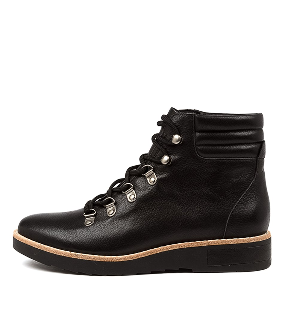 Buy Django & Juliette Radha Dj Black Black Sole Ankle Boots online with free shipping