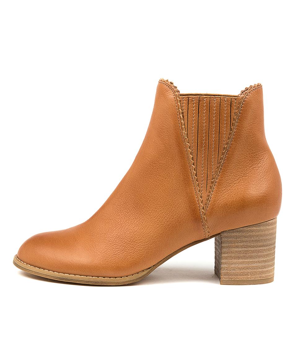 Buy Django & Juliette Sanity Dj Dk Tan Ankle Boots online with free shipping