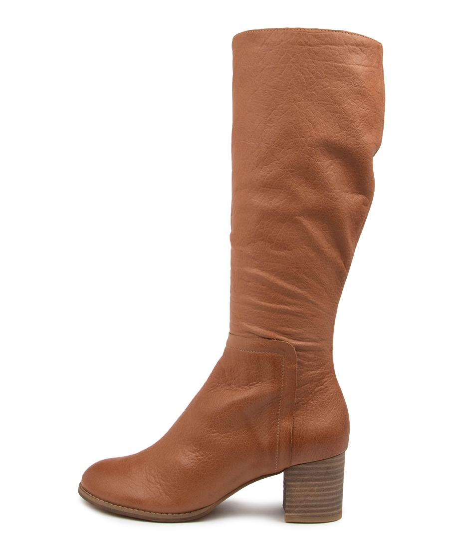 Buy Django & Juliette Sorrie Dj Dk Tan Long Boots online with free shipping