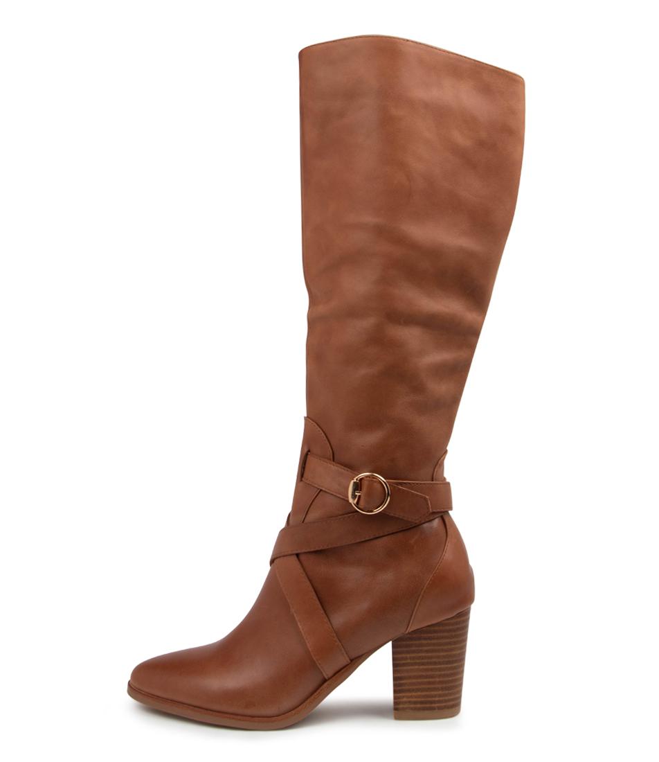 Buy Django & Juliette Tess Dj Cognac Long Boots online with free shipping