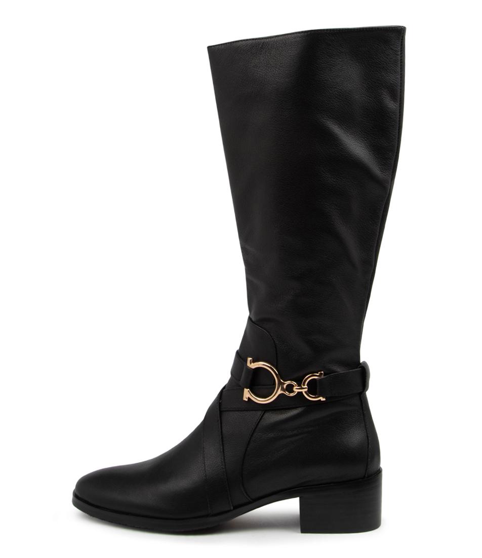 Buy Django & Juliette Tyler Dj Black Long Boots online with free shipping