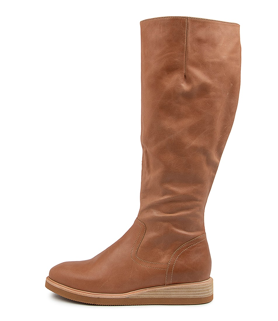 Buy Django & Juliette Valli Dj Tan Long Boots online with free shipping