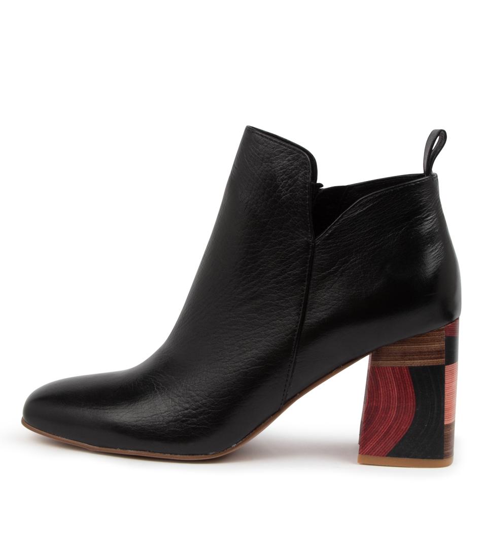 Buy Django & Juliette Yafa Dj Black High Heels online with free shipping