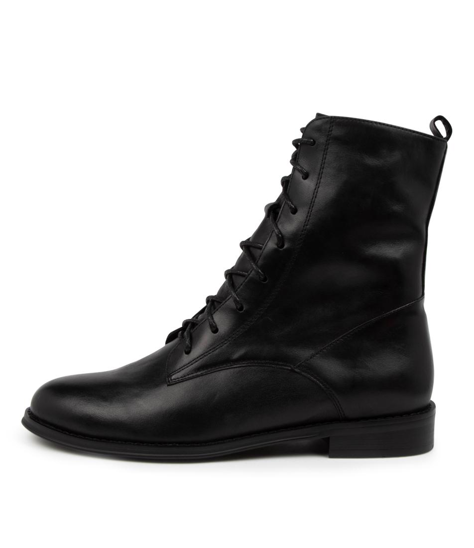 Buy Django & Juliette Yago Dj Black Ankle Boots online with free shipping