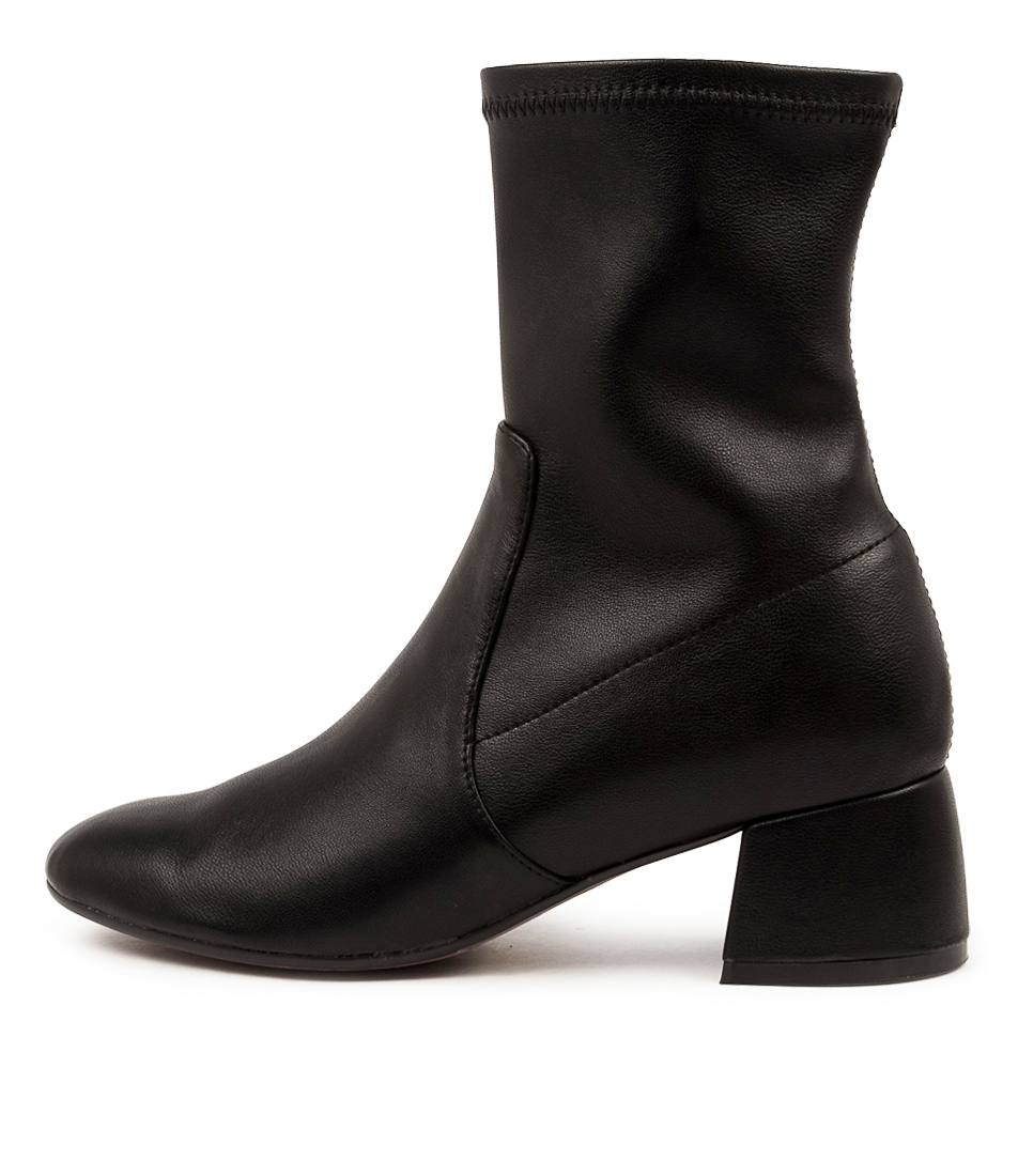 Buy Django & Juliette Checkie Dj Black Ankle Boots online with free shipping
