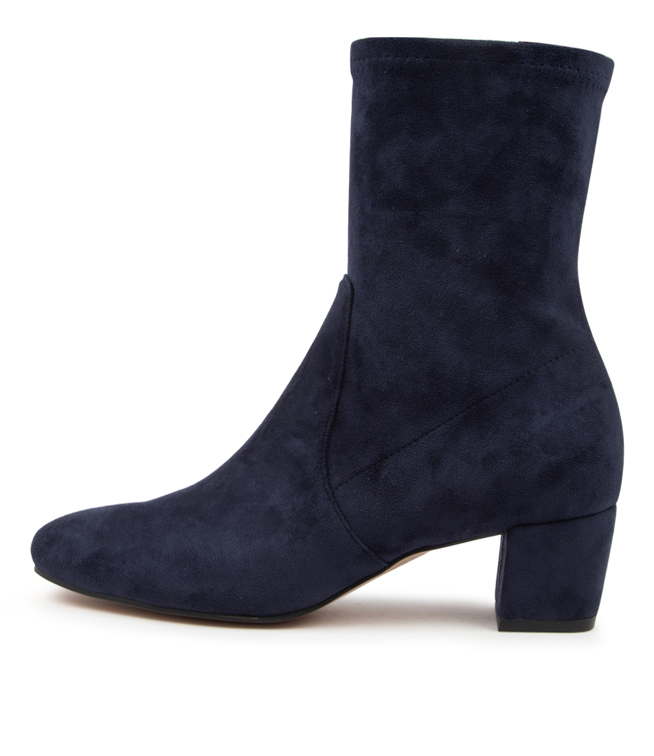 Buy Django & Juliette Hartful Dj Navy Ankle Boots online with free shipping