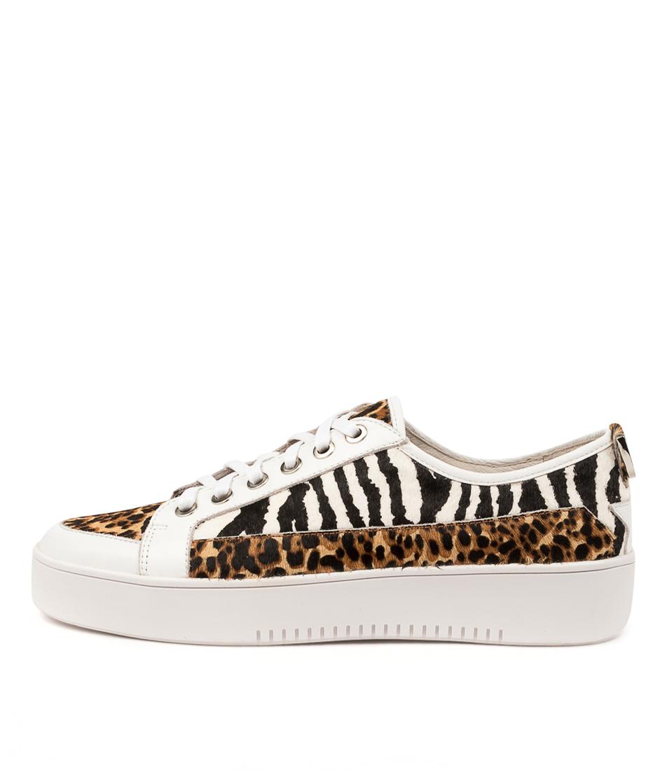 Buy Django & Juliette Laci Djl Tan Cheetah Sneakers online with free shipping