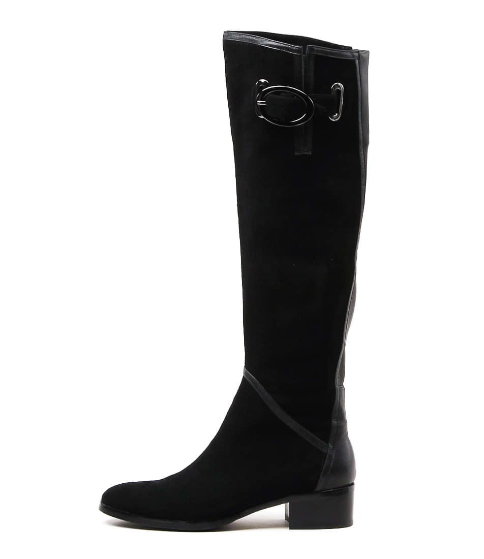 Django & Juliette Tamiladj Black Long Boots buy  online