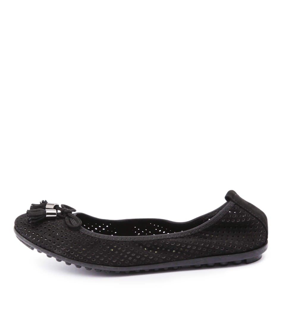 Django & Juliette Balance Black Casual Flat Shoes