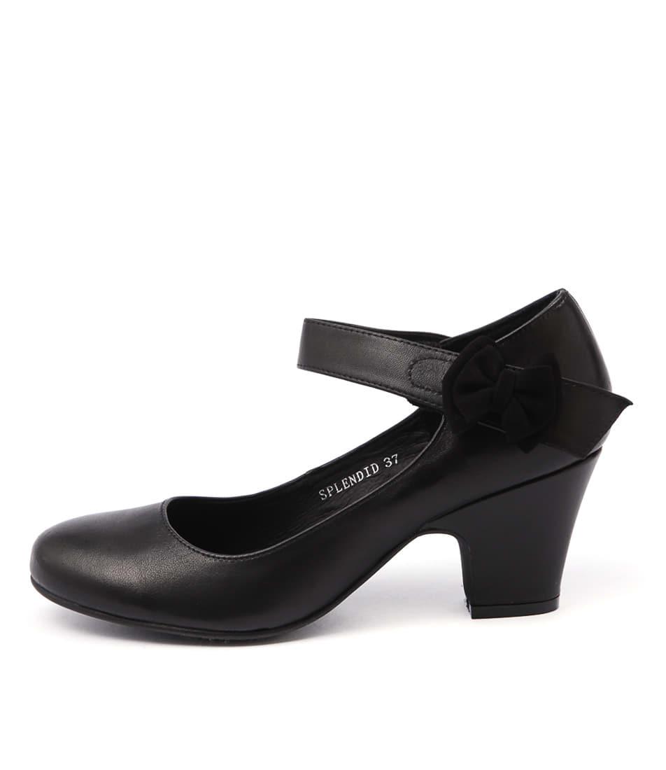 Django & Juliette Splendid Black Heeled Shoes