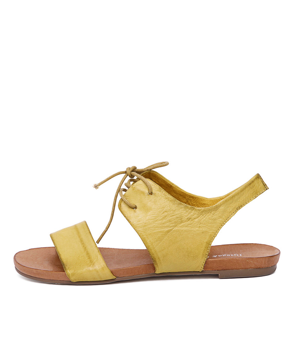 Django & Juliette James Yellow Sandals
