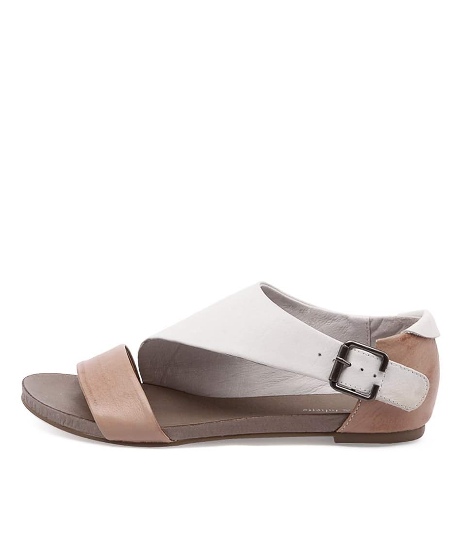 Django & Juliette Jimini Ice Latte Casual Flat Sandals