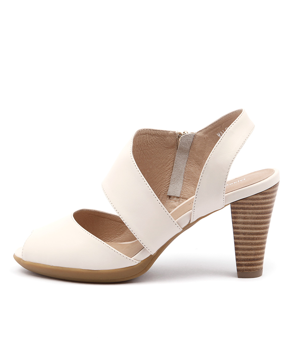 Django & Juliette Walsh Beige Sandals