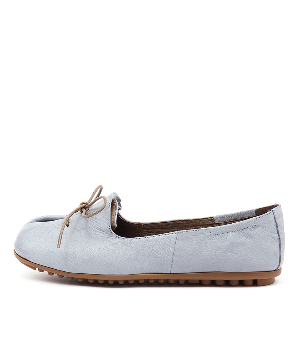 Django & Juliette Ballad Blue Flat Shoes