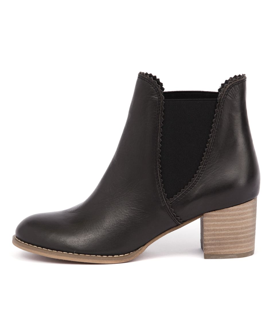 Buy Django & Juliette Sadore Black Ankle Boots online with free shipping