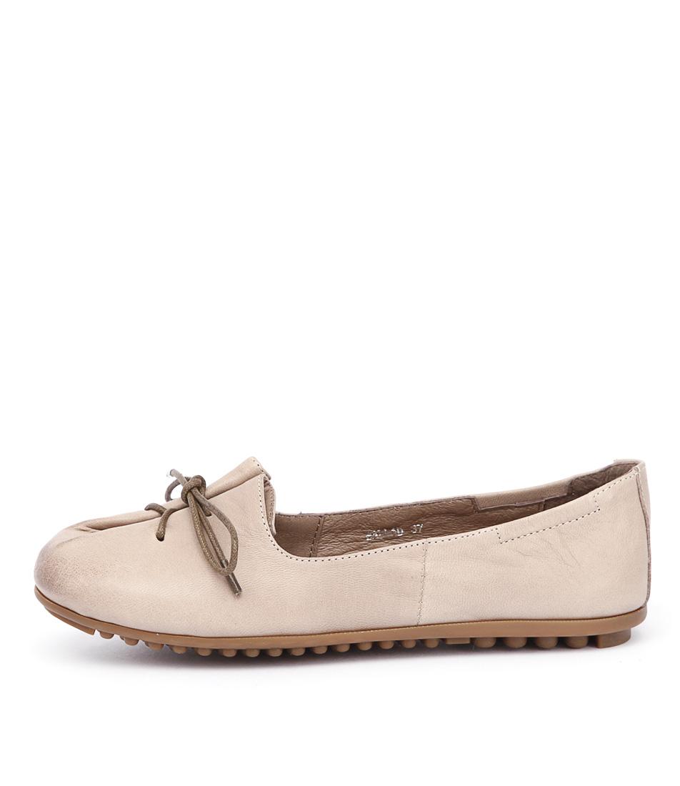 Django & Juliette Ballad Nude Casual Flat Shoes