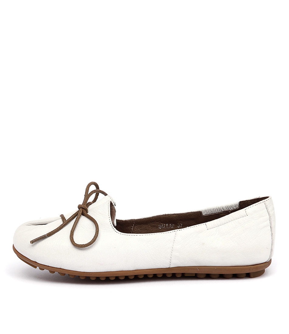Django & Juliette Ballad White Flat Shoes