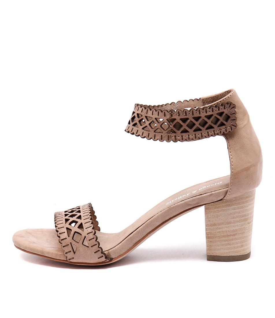 Django & Juliette Cajun Nude Heeled Sandals