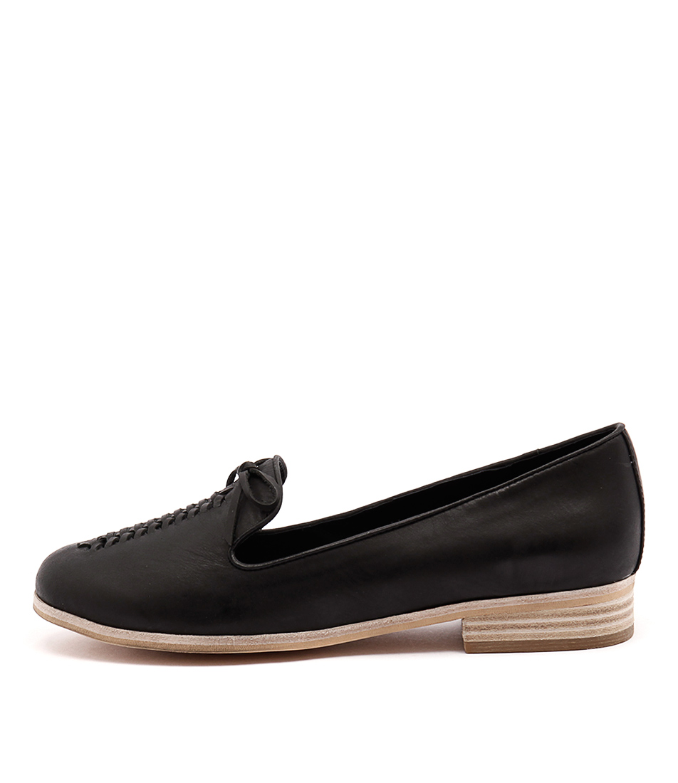 Django & Juliette Allstop Black Casual Flat Shoes buy  online
