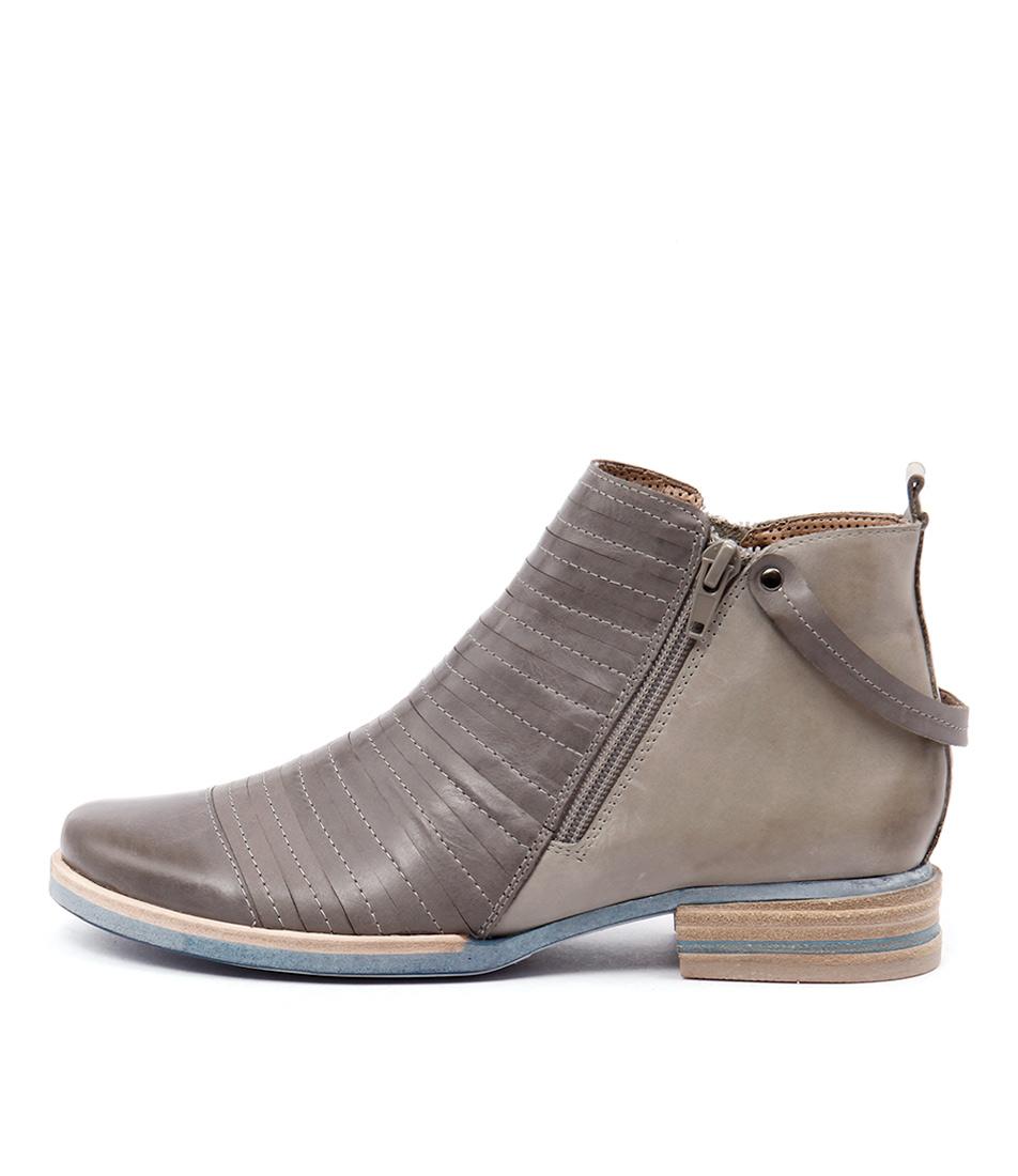 Django & Juliette Cissy Grey Multi Boots