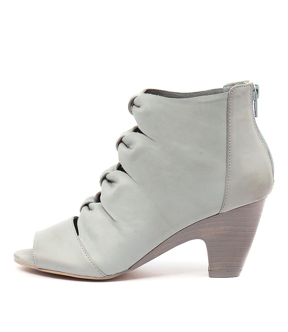 Django & Juliette Kitcat Light Denim Boots