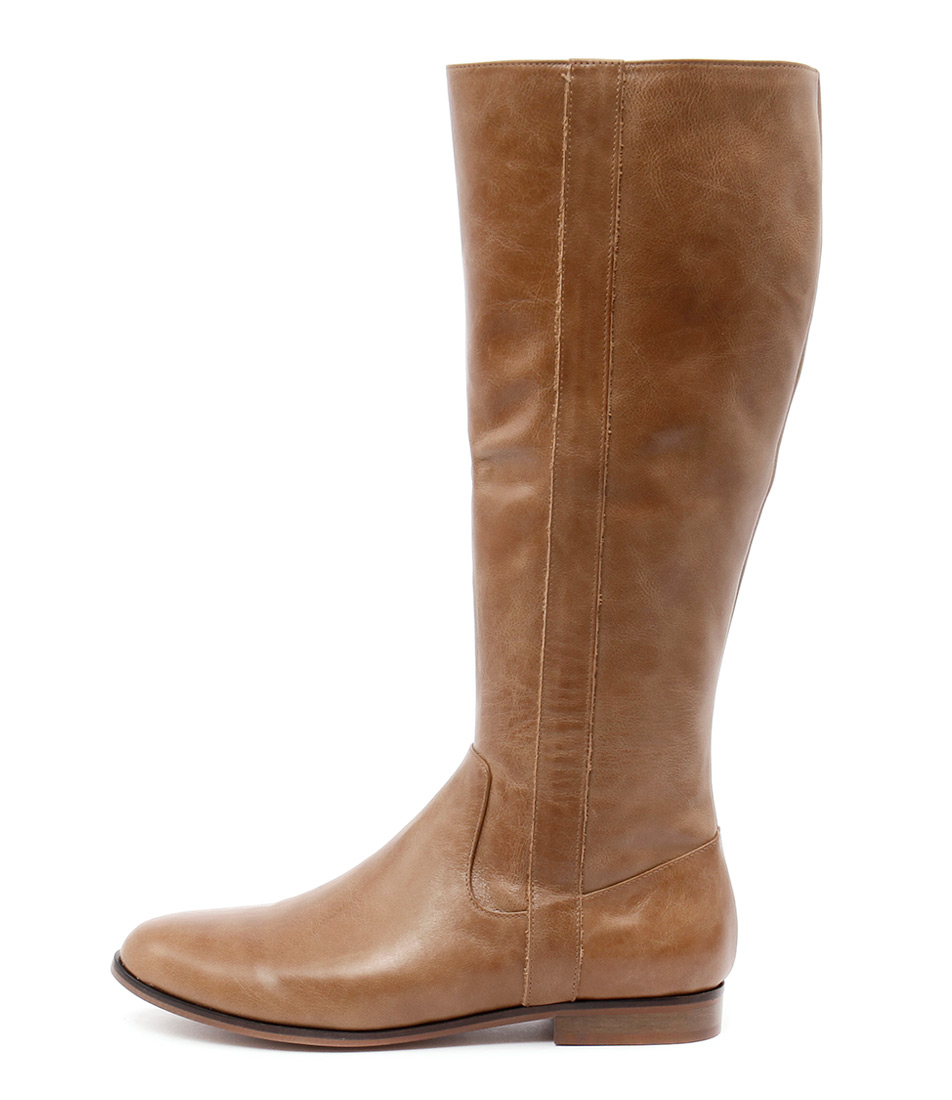 Django & Juliette Pautien Tan Long Boots